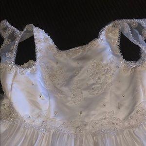 Cinderella White Dress!